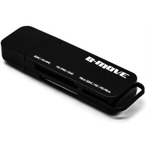 Imagen de B-Move CRPocket USB 2.0 Negro lector de tarjeta