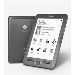 """Picture of SPC 5608N eBook Reader Dickens 6"""" 8GB"""