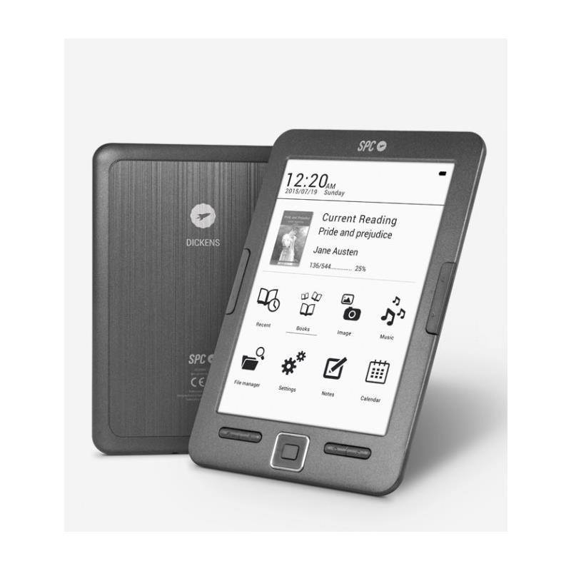 "Imagen de SPC 5608N eBook Reader Dickens 6"" 8GB"