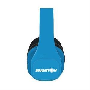 Picture of Brigmton Auriculares MP3/Radio SD Bateria Azules