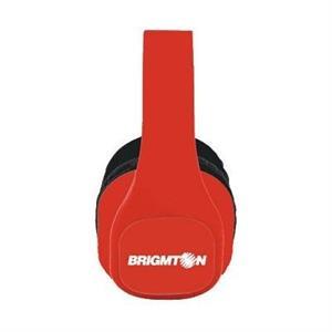 Picture of Brigmton Auriculares MP3/Radio SD Bateria Rojos