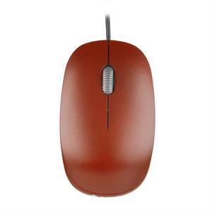 Imagen de NGS Flame USB Óptico 1000DPI mano derecha Rojo ratón