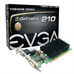 Imagen de EVGA 01G-P3-1313-KR GeForce 210 1GB GDDR3 tarjeta gráfica