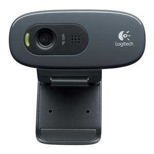 Imagen de Logitech C270 3MP 1280 x 720Pixeles USB 2.0 Negro cámara web