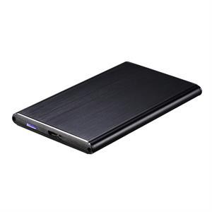 """Imagen de TooQ TQE-2529B Carcasa de disco duro/SSD 2.5"""" Negro storage drive enclosure"""