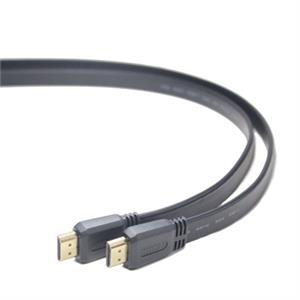 Imagen de iggual Cable Plano HDMI Alta Velocidad (M)-(M) 1m