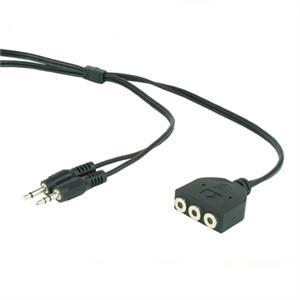 Picture of iggual Cable Extensión Auricular(2) y Micrófono 1M