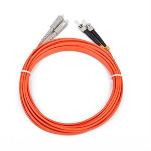 Imagen de iggual Cable Fibra Óptica Duplex Mult. ST/SC 2Mts