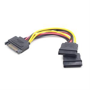 Imagen de iggual Cable Alimentación SATA Plano 0.15 Mts