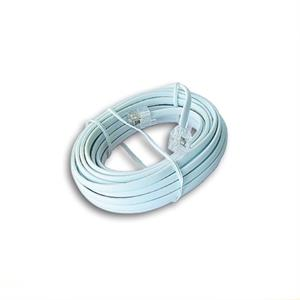 Picture of iggual Cable Telefónico 6P4C RJ11 M/M 5Mts Blanco