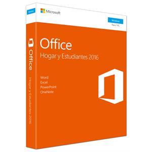 Imagen de Microsoft Office Home & Student 2016 1usuario(s) Español