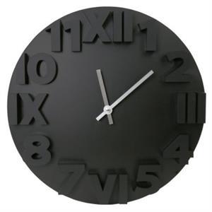 Picture of Platinet PZMOBC Modern Reloj De Pared Negro