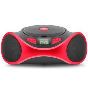 Imagen de SPC Clap Boombox Reproductor de CD Negro/Rojo 4501R