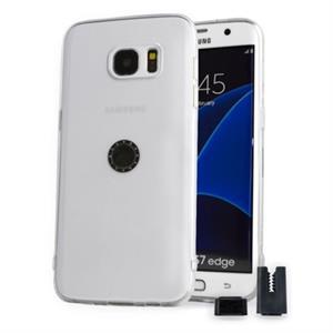 Imagen de STIKGO Funda TPU Carclip Samsung S7 Edge Transpare