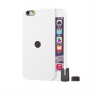 Imagen de STIKGO Funda TPU Carclip iPhone 6 / 6S Blanca