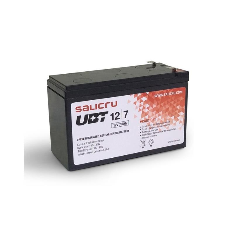 Imagen de Salicru Bateria Para Slc 3000 Twin 12Vcc 7Ah