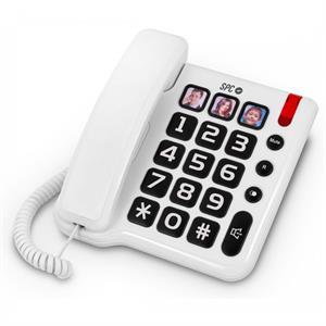 Imagen de SPC Comfort Numbers Teléfono Blanco 3294B