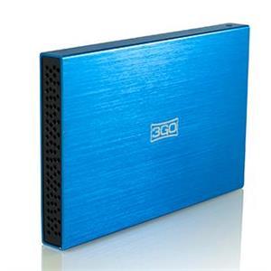 """Imagen de 3GO HDD25BL13 2.5"""" Azul caja para disco duro externo"""