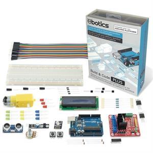 Imagen de Ebotics Build & Code KSIX Kit creac Elec+Pro Ampl