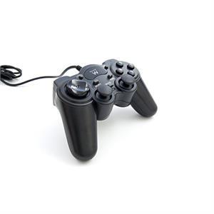 Imagen de Ewent EW3170 Gamepad PC Negro mando y volante