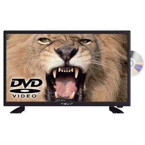 """Imagen de Nevir 7412 TV 24"""" LED HD USB DVR 12V HDMI+DVD neg"""