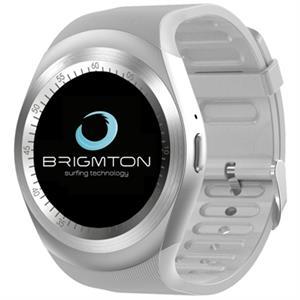 """Imagen de Brigmton BT7 SmartWatch IPS 1.3"""" Podometro Blanco"""
