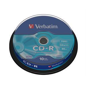 Imagen de Verbatim CD-R Extra Protection CD-R 700MB 10pieza(s)