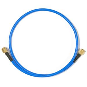 Picture of Mikrotik Flex-guide 0.5m RPSMA RPSMA Azul cable coaxial