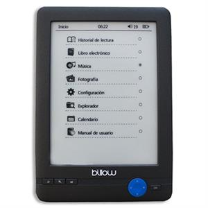 """Picture of Billow E03T eBook reader E03T 6"""" E-Ink 4GB Táctil"""
