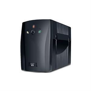 Imagen de Ewent EW3941 720VA 2AC outlet(s) Torre Negro sistema de alimentación ininterrumpida (UPS)