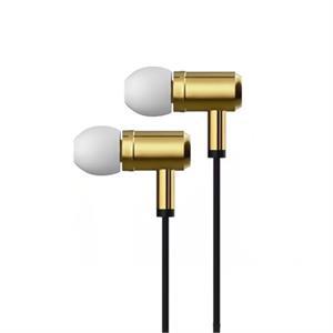 Imagen de X-One AMI1000G Auriculares In-Ear +mic metal Oro