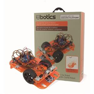 Imagen de Ebotics Code & Drive KIT DYI Coche Robot