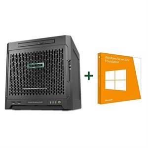 Imagen de HPE ProLiant MicroServer Gen10X3216/8GB+Foundation