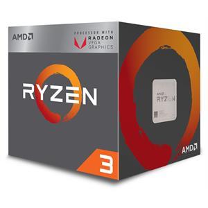 Imagen de AMD Ryzen 3 2200G 3.5GHz 2MB L2 Caja procesador