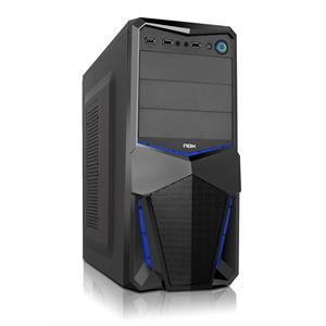 Imagen de NOX NXPAX Midi-Tower Negro carcasa de ordenador