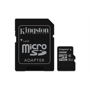 Imagen de Kingston Technology Canvas Select 16GB MicroSDHC UHS-I Clase 10 memoria flash