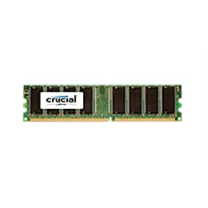 Imagen de Crucial 1GB DDR UDIMM 1GB DDR 400MHz módulo de memoria