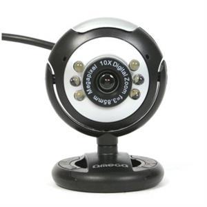 Imagen de Omega WebCam C12SB 12Mpix + Micrófono Negro