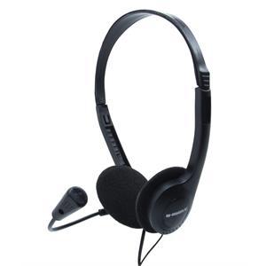 Imagen de B-Move Sound One Binaural Diadema Negro auricular con micrófono