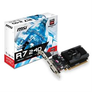 Imagen de MSI VGA AMD RADEON R7 240 1GD3 64B LP 1GB DDR3