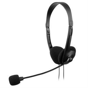 Imagen de Tacens AH118 Diadema Binaural Alámbrico Negro auriculares para móvil