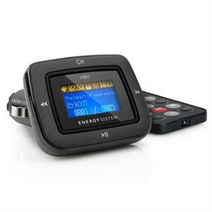 Imagen de Energy Sistem Car MP3 1100 87.5 - 108MHz Alámbrico Negro transmisor FM