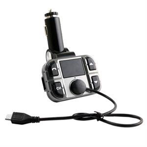 Imagen de Omega Transmisor FM Coche Bluetooth LCD M/L USB