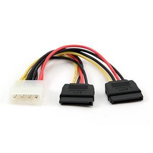 Imagen de iggual Cable SATA ALIMENTACION XHD2 15 CM