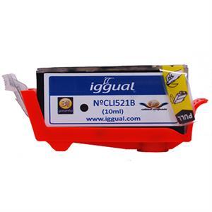 Picture of iggual Cartucho Reciclado Canon CLI521B Negro