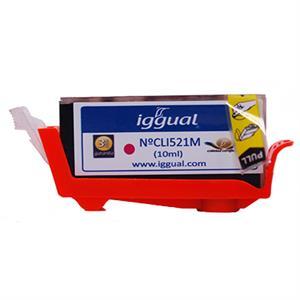Imagen de iggual Cartucho Reciclado Canon CLI521M Magenta