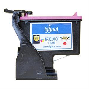 Imagen de iggual Cartucho Reciclado HP Nº 301XLCH564E Color