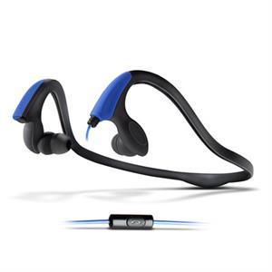 Imagen de Energy Auriculares+Micro Running Two Neon Azul