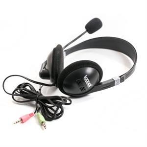 Imagen de iggual Auricular + Micro Negro  Jack 3.5mm Hi-Fi