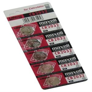 Picture of Maxell CR2032 pila 3V Lítio Pack 5 unidades